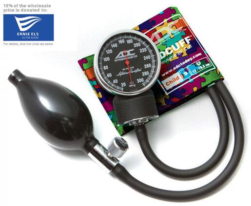 ADC<sup>®</sup> Diagnostix<sup>™</sup> 720 Pocket Blood Pressure Cuff, Puzzle Pieces, Child