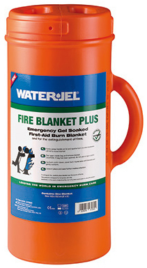 Water-Jel<sup>®</sup> Fire Blanket Plus with Carry Cannister, 5' x 6'