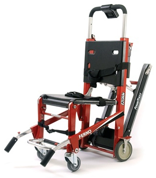 Ferno Model 59-T EZ-Glide<sup>®</sup> with PowerTraxx<sup>™</sup>, IV Pole and Lift Handles