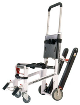 Ferno<sup>®</sup> 59-E Ez-Glide<sup>®</sup> Evacuation Chair with Powertraxx<sup>™</sup>, White
