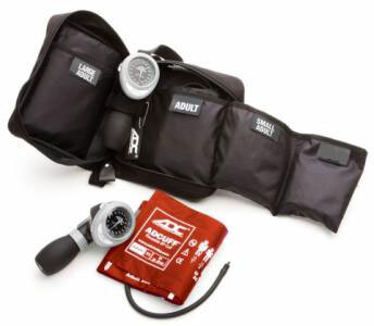 ADC Multikuf<sup>™</sup> Portable Sphygmomanometer Kit, 3 Cuff, Orange