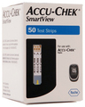 Accu-Chek<sup>&reg;</sup> SmartView Test Strips, 50/box