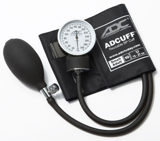 ADC<sup>&reg;</sup> Prosphyg<sup>™</sup> 760 Pocket Blood Pressure Cuff, Black, Adult, Small