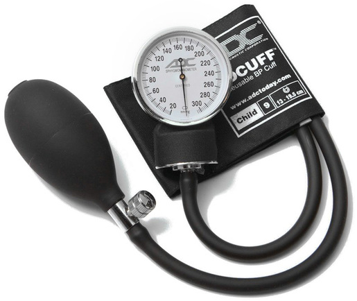 ADC<sup>®</sup> Prosphyg<sup>™</sup> 760 Pocket Blood Pressure Cuff, Black, Child