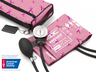 ADC<sup>&reg;</sup> Prosphyg<sup>™</sup> 768 Pocket Blood Pressure Cuff/Aneroid Sphyg, Breast Cancer Awareness Edition, Adult