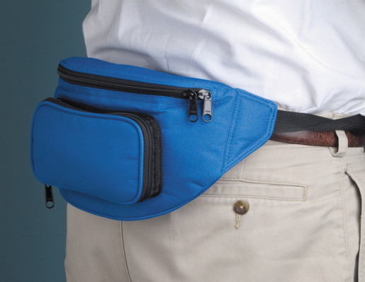 ADC<sup>&reg;</sup> Pro's Combo IV<sup>™</sup> Fanny Pack Essentials Aneroid Kit, Navy