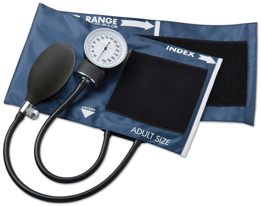 ADC Prosphyg<sup>™</sup> 775 Pocket Aneroid Sphygmomanometer, Adult, Navy