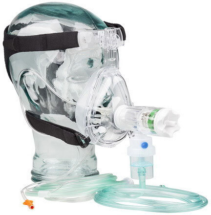 Curaplex<sup>&reg;</sup> GO-PAP<sup>™</sup> Capno Kits with BiTrac ED with Nebulizer, Adult, Large