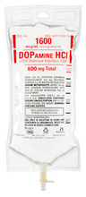 Dopamine Hydrochloride in 5% Dextrose Injection, USP, 800mg, 500mL