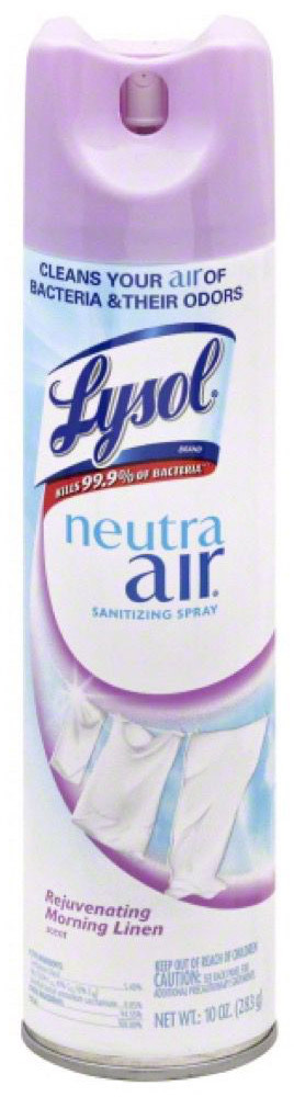 Lysol<sup>®</sup> Neutra Air<sup>®</sup> Disinfecting Spray, 10oz, Morning Linen