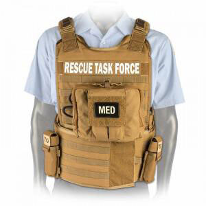 North American Rescue Task Force Vest Kit with Side Armor and Supplies