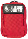 North American Rescue Individual Bleeding Control Kit , Advanced, Red Nylon Case