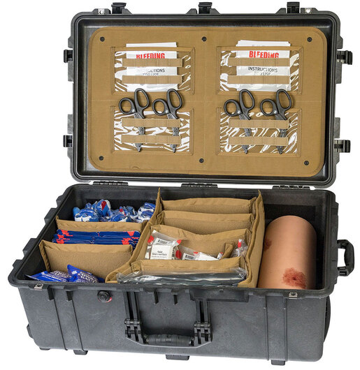North American Rescue Advanced Bleeding Control Skills Training Kit with Wound Packing Simulator