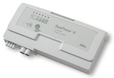 Zoll<sup>&reg;</sup> SurePower<sup>™</sup> II Lithium Ion Smart Battery, Rechargeable, 6-hour