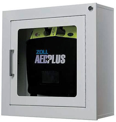 Zoll<sup>&reg;</sup> AED Standard Metal Wall Cabinet with Alarm