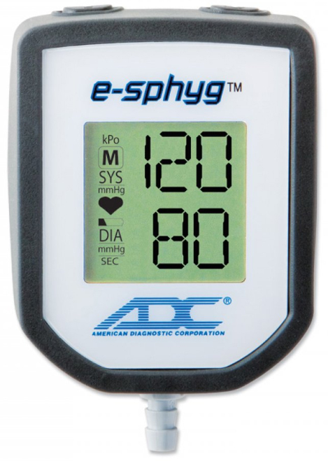 ADC<sup>®</sup> Gauge for E-Sphyg<sup>™</sup> Digital Aneroid Sphygmomanometer, Adult, Latex-free
