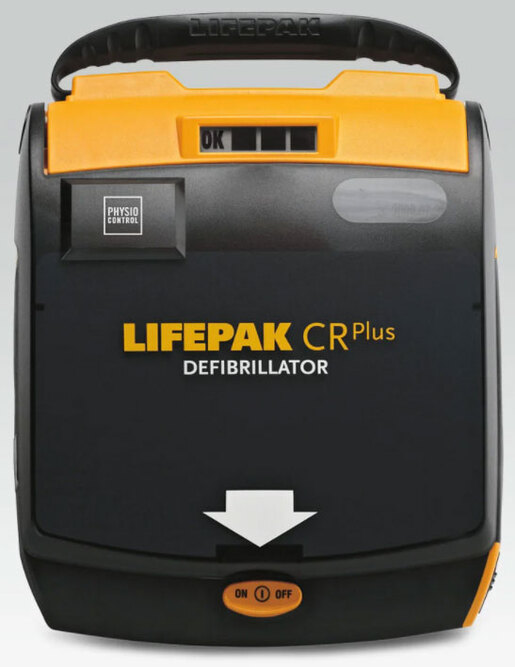 Physio-Control LifePak CR<sup>®</sup> Plus AED, Semi-automatic