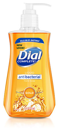Dial<sup>®</sup> Gold Liquid Antimicrobial Soap, 7 1/2oz Pump