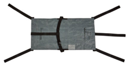 "Graham Megamover<sup>®</sup> Tactical Transport Unit, Non-woven, Gray, 48"" x 24"""
