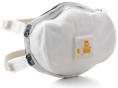 3M<sup>™</sup> N100 Particulate Respirator