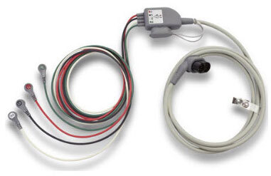 Zoll Replacement 4-Lead Trunk Cable for Propaq MD, AAMI