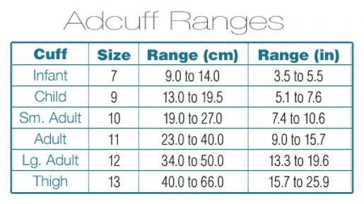 ADC Adcuff<sup>™</sup> Cuff and Bladder, 1 Tube, Latex-free