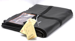 "Disaster Pouch, Heavy Duty, 36"" x 90"", Black"