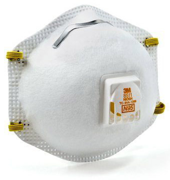 3M<sup>™</sup> Disposable Particulate Respirator 8511 N95 with Valve