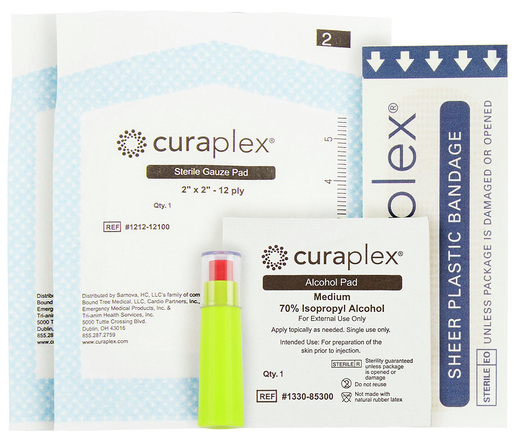 Curaplex<sup>&reg;</sup> Glucose Start Kit, 21ga Lancet
