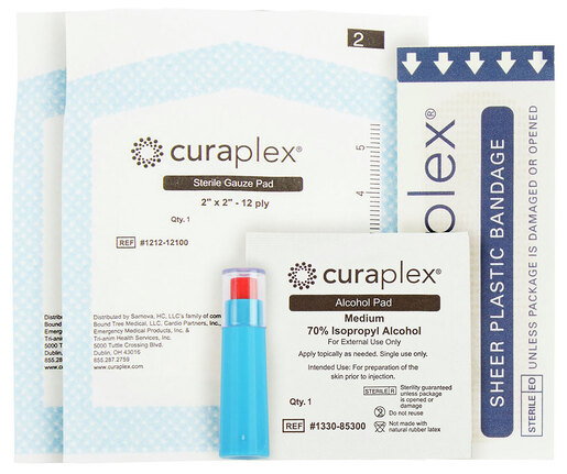 Curaplex<sup>®</sup> Glucose Start Kit, 25ga Lancet