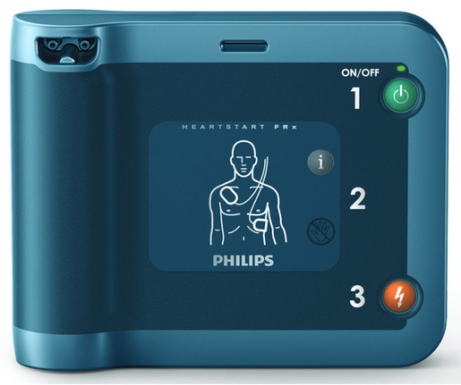 Philips Heartstart FRx AED with Carrying Case