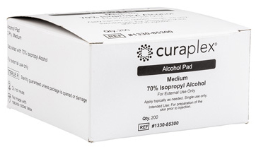 Curaplex<sup>®</sup> Alcohol Prep Pads, Medium