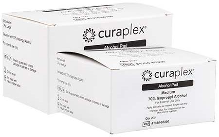 Curaplex<sup>®</sup> Alcohol Prep Pads