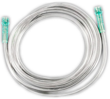 Curaplex<sup>®</sup> Oxygen Connecting Tubing, 7', 3 Channel Safety Tubing