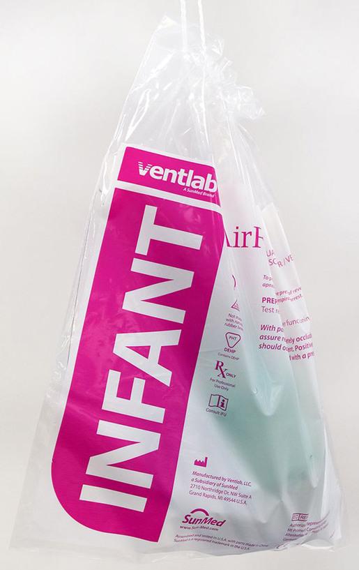 Ventlab AirFlow Resuscitation/Ventilation Bag, Infant