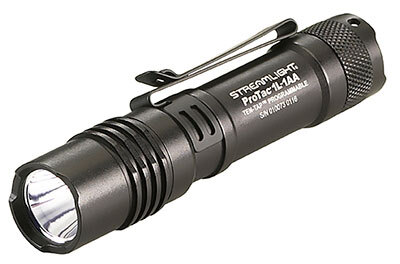 ProTac<sup>®</sup> 1L-1AA Professional Tactical Flashlight, Black