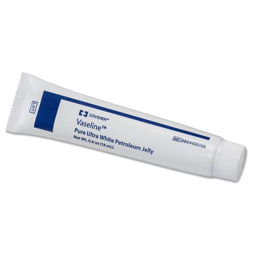 Vaseline<sup>™</sup> Pure Ultra White Petroleum Jelly, 3.25oz Tube