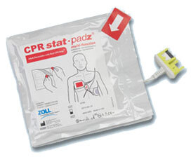 Zoll CPR Stat-padz<sup>&reg;</sup> Multi-function Electrodes, CPR, HVP