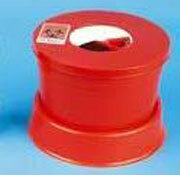 Covidien Multi-Purpose Sharps Container, Round, Red, 5qt