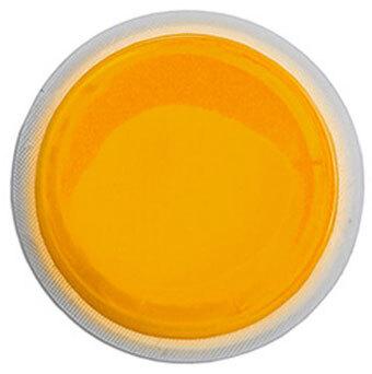 """Cyalume 3"""" LightShapes Circle Markers, 4 Hour, Orange"""