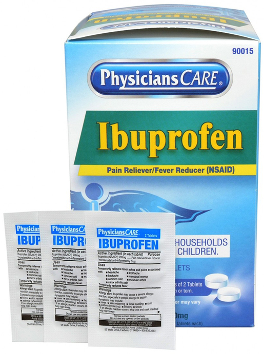 PhysiciansCare<sup>&reg;</sup> Ibuprofen Pain Reliever Medication 50 packets