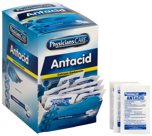 PhysiciansCare<sup>&reg;</sup> Antacid Heartburn Medication, 50 packets