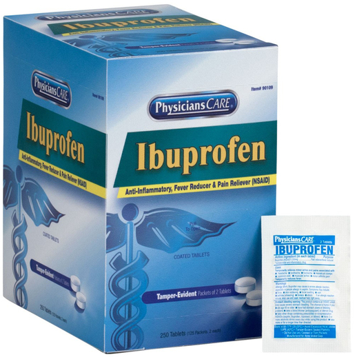 PhysiciansCare<sup>&reg;</sup> Ibuprofen Pain Reliever Medication, 125 packets