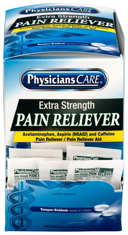 PhysiciansCare<sup>®</sup> Extra Strength Pain Reliever Medication