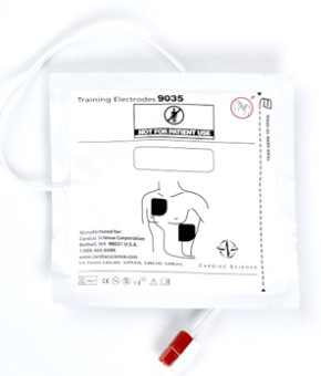 Cardiac Science<sup>®</sup> Training AED Pads, Adult