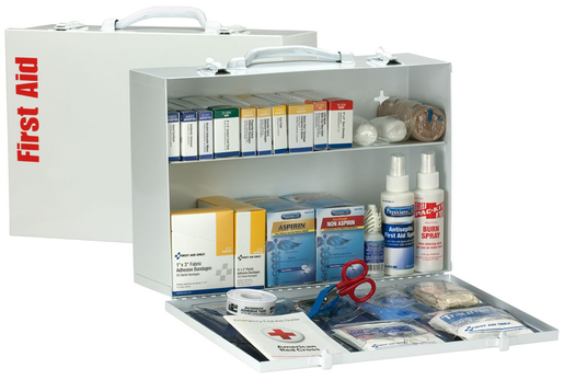 First Aid Only<sup>®</sup> ANSI 2-shelf First Aid Station, 355-piece
