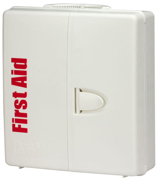 First Aid Only<sup>®</sup> SmartCompliance First Aid Cabinet, Plastic, 50 Person