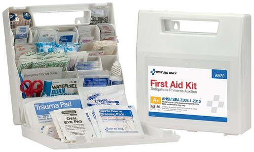 First Aid Only<sup>®</sup> ANSI A+ First Aid Kit, 50-person