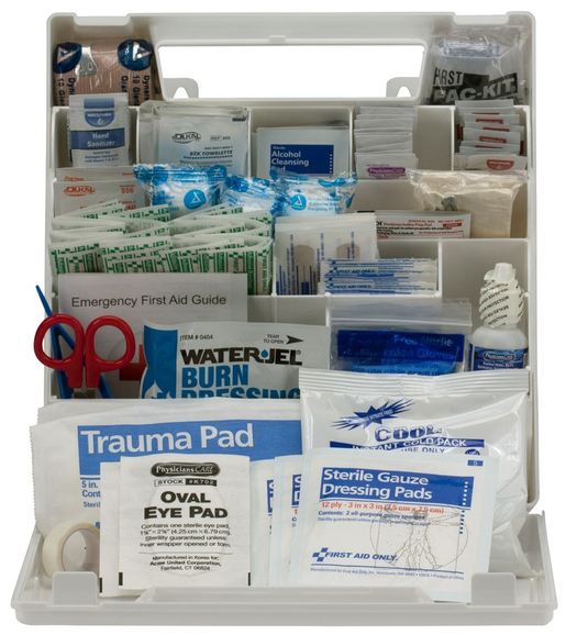 First Aid Only<sup>&reg;</sup> ANSI A+ First Aid Kit, 50-person