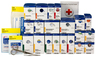 First Aid Only<sup>®</sup> SmartCompliance First Aid Cabinet, 50 Person, Plastic, Refill Pack